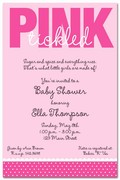 Baby Shower Invitation Messages Inspirational 43 Best Girl Baby Shower Invitations Images On Pinterest
