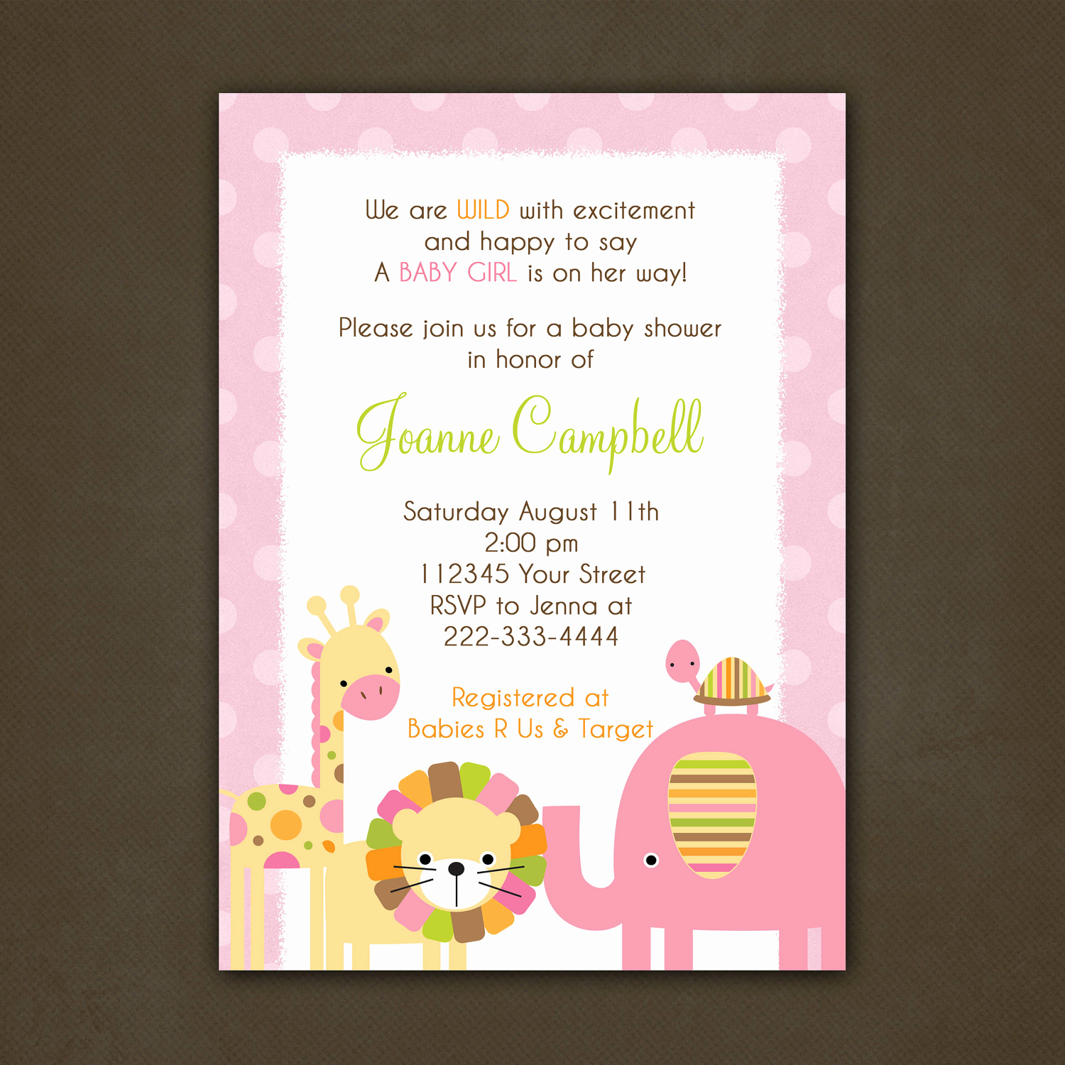 Baby Shower Invitation Messages Inspirational Baby Shower Invitation Wording Image