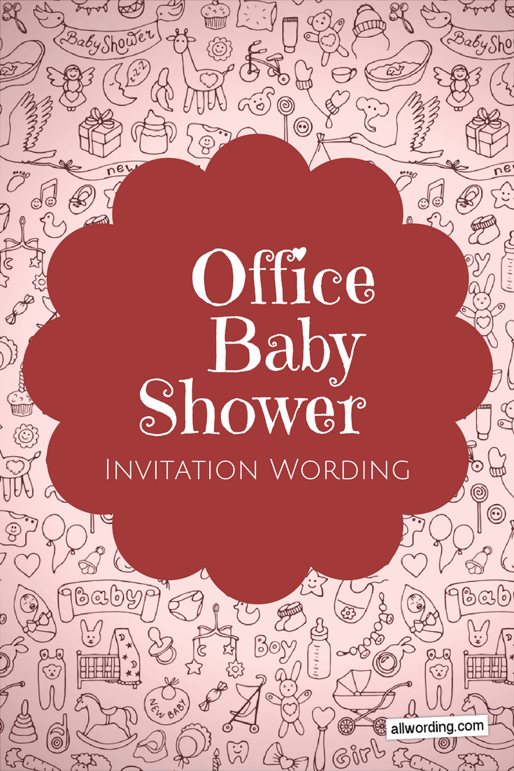 Baby Shower Invitation Messages Lovely Fice Baby Shower Invitation Wording Allwording