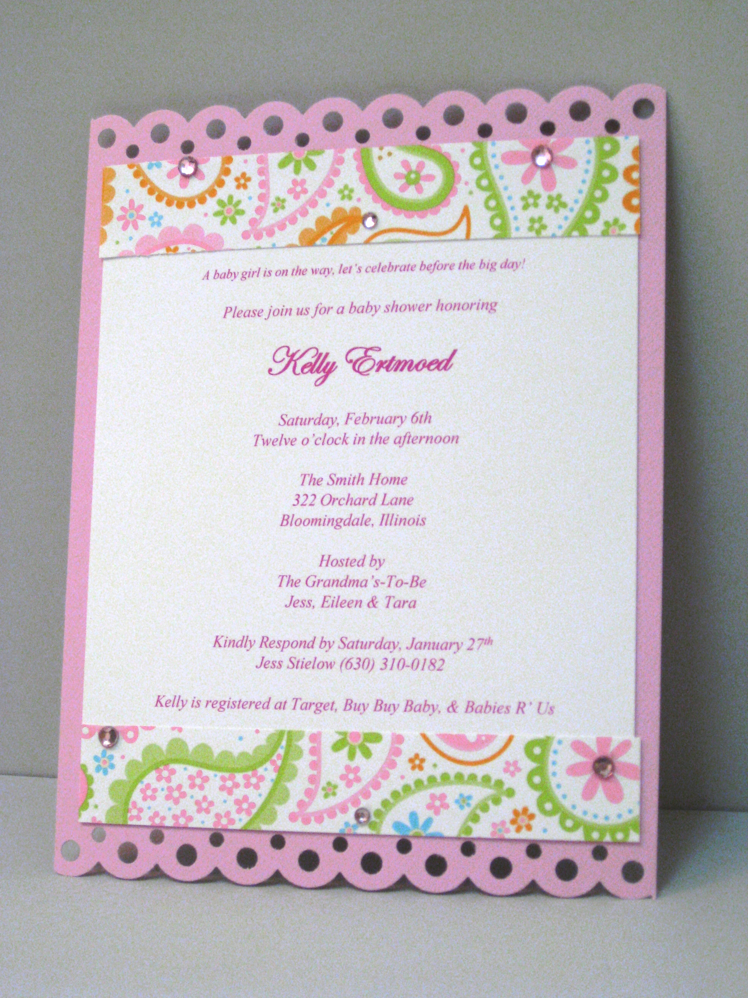 Baby Shower Invitation Pics Elegant Baby Shower Invitations