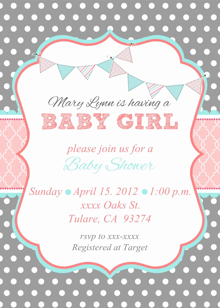 Baby Shower Invitation Pics Inspirational Loca Date Time Line About Diaper Raffle & Spa Prize