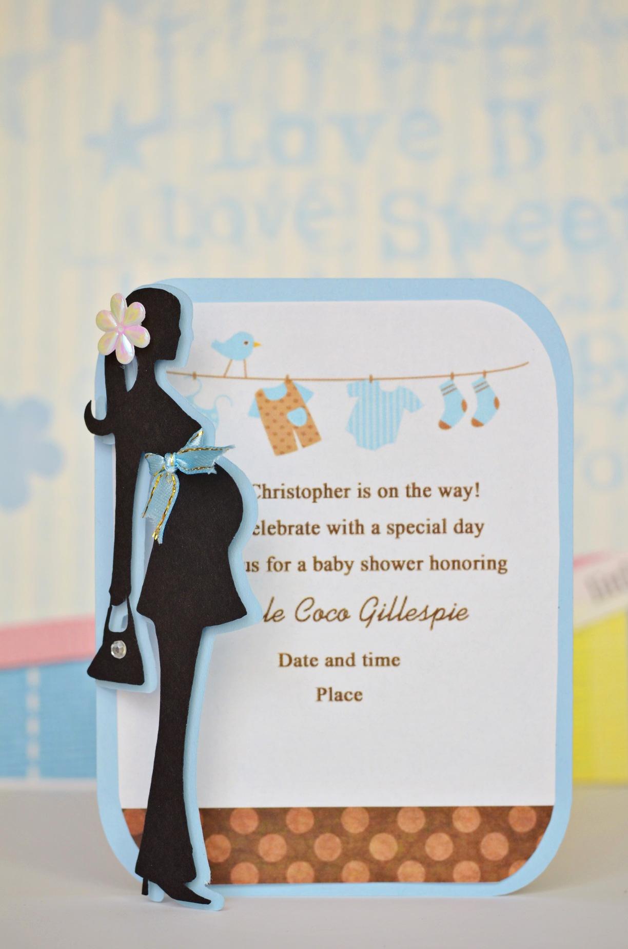 Baby Shower Invitation Pics Luxury September 2012