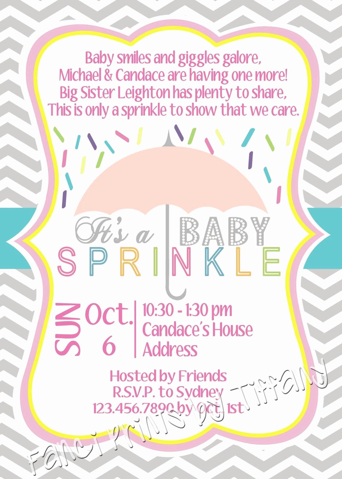 Baby Shower Invitation Pics New Fanci Prints by Tiffany Baby Shower Invitations