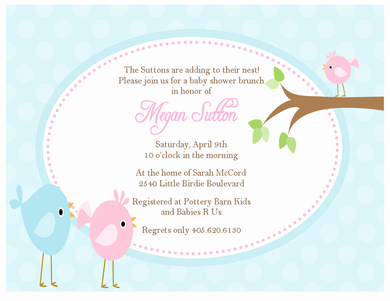 Baby Shower Invitation Pictures Beautiful the Sweet Peach Paperie Little Bir Baby Shower Invitations