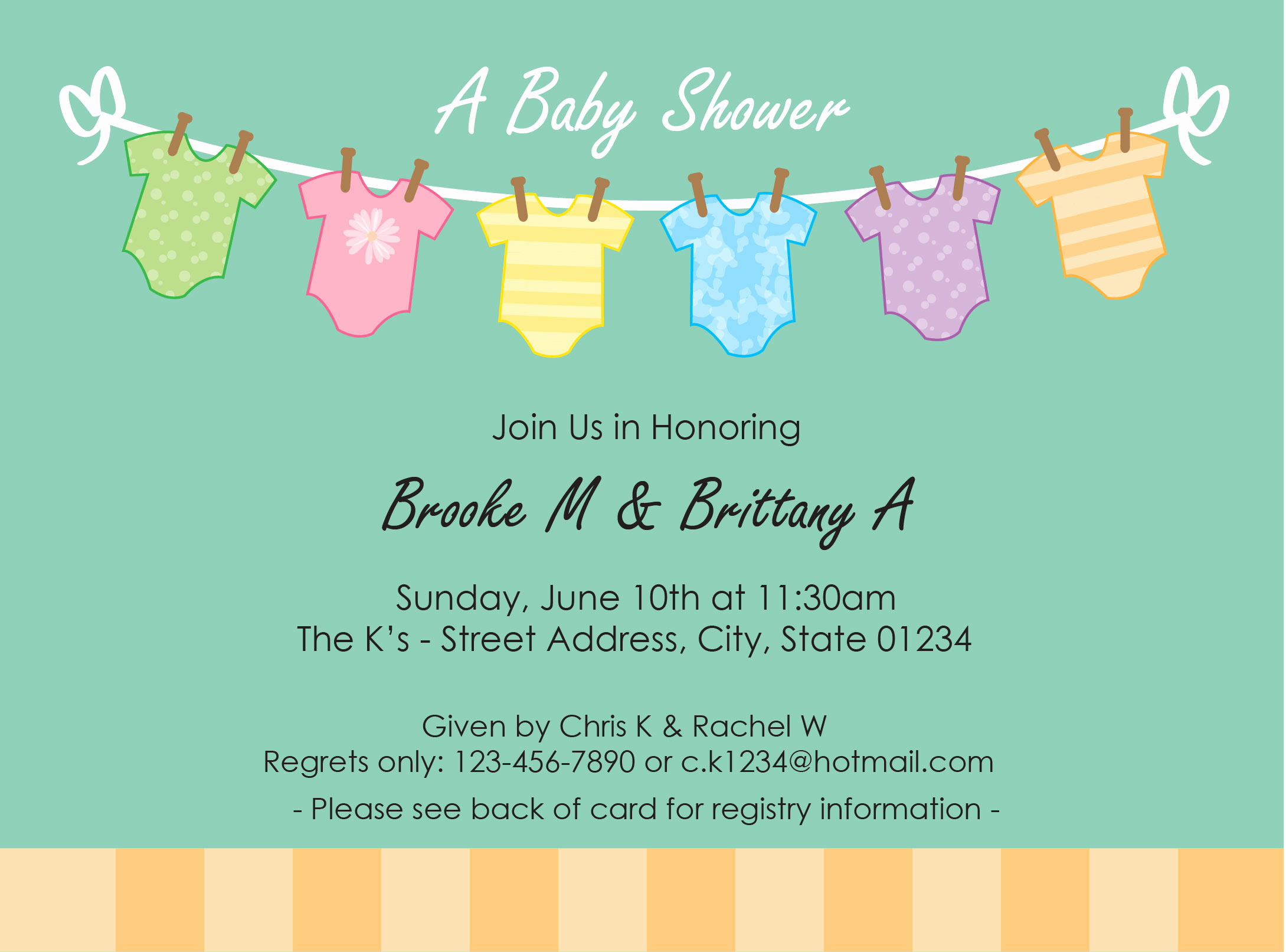 Baby Shower Invitation Pictures Elegant Greeting Cards & Invitations