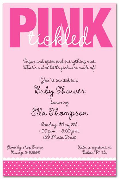 Baby Shower Invitation Poems Best Of 43 Best Girl Baby Shower Invitations Images On Pinterest