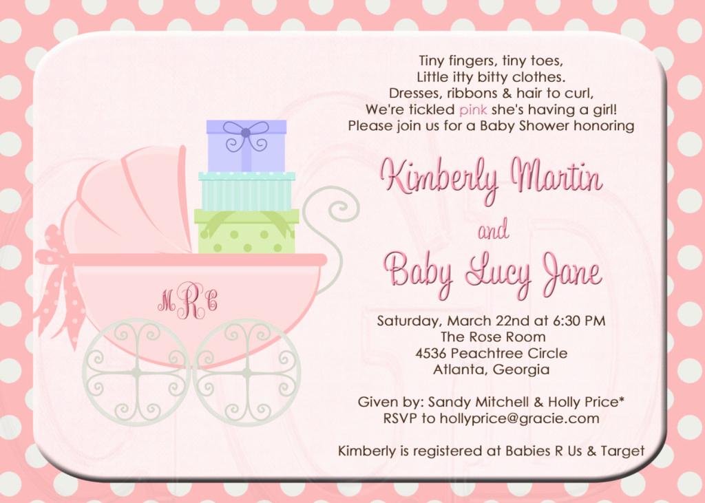 Baby Shower Invitation Poems Elegant formal Baby Shower Invitations Wording
