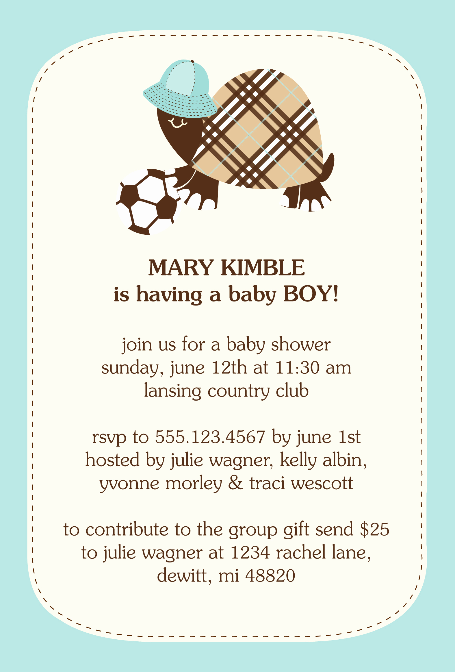 Baby Shower Invitation Poems Elegant Invitation Contest Design Entry Burberry Turtle Baby