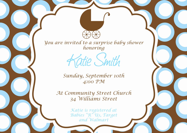Baby Shower Invitation Printable Beautiful Baby Boy Baby Shower Invitation Custom Printable by Cohenlane