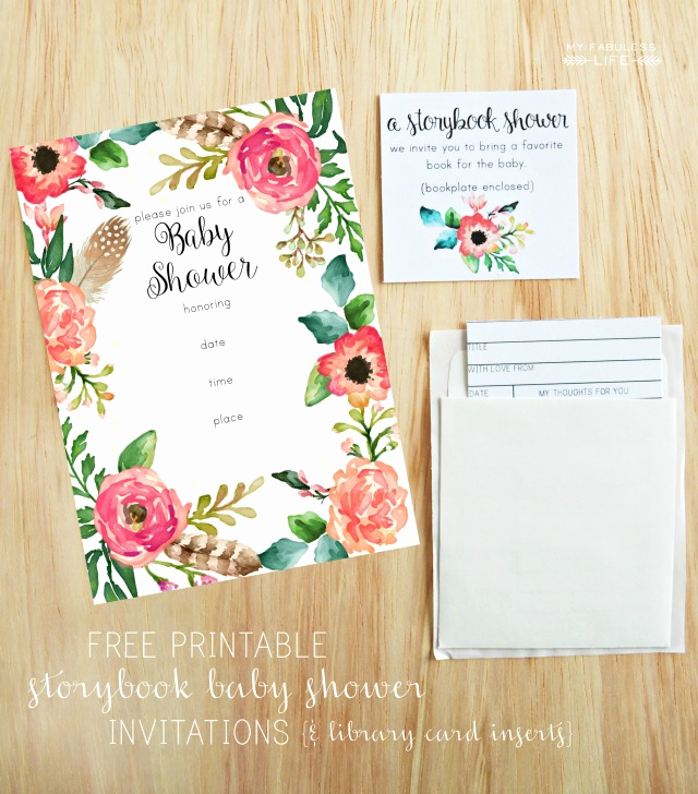 Baby Shower Invitation Printable Elegant Free Printable Baby Shower Invitations