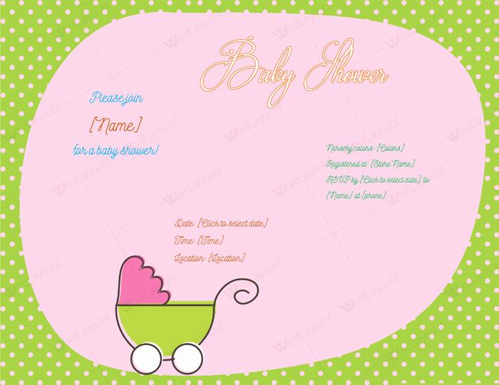 Baby Shower Invitation Template Word Elegant Use A Baby Shower Invitation Template 5 Printable Designs