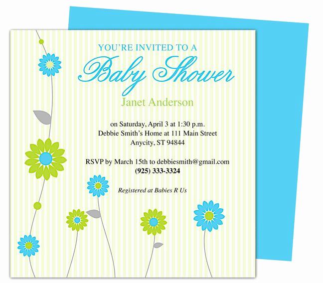 Baby Shower Invitation Template Word Fresh 42 Best Images About Baby Shower Invitation Templates On