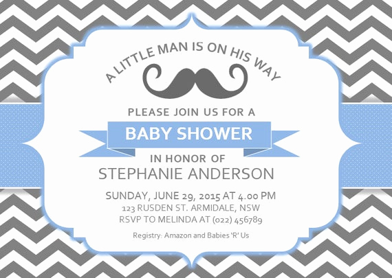Baby Shower Invitation Template Word Fresh Diy Printable Ms Word Baby Shower Invitation Template by