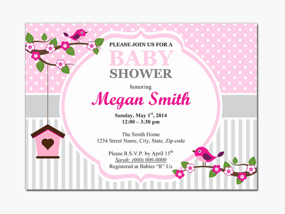Baby Shower Invitation Template Word Lovely Free Baby Shower Invitations Templates for Word