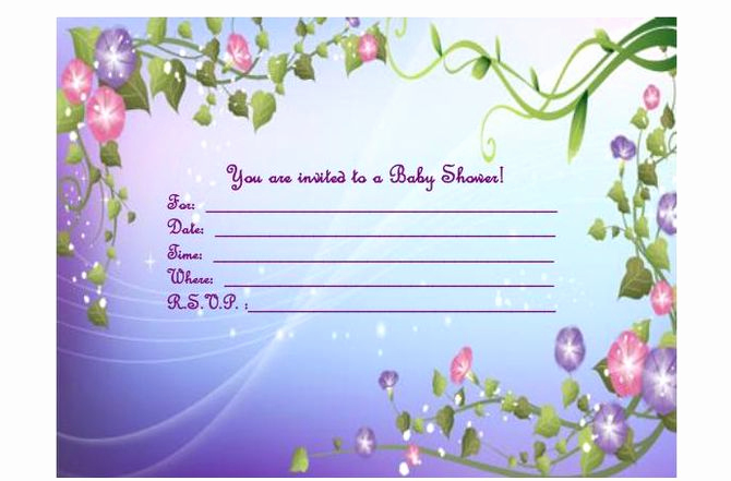Baby Shower Invitation Template Word Lovely How to Make A Baby Shower Invitation Template Using