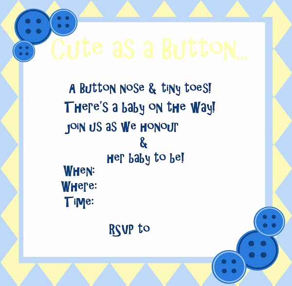 Baby Shower Invitation Template Word New Baby Shower Invitation Templates Word