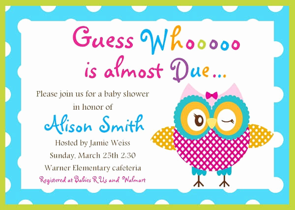 Baby Shower Invitation Template Word Unique Baby Shower Invitation Templates Word