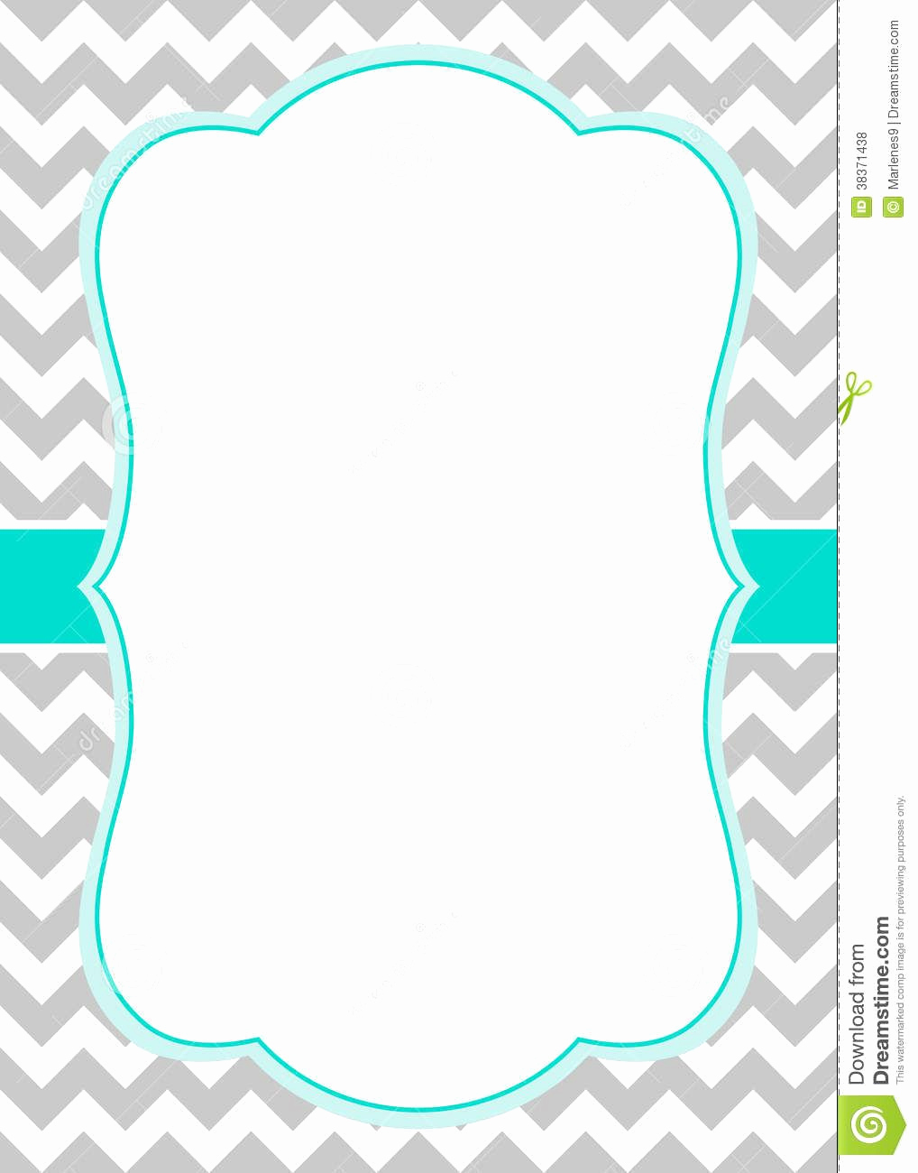 Baby Shower Invitation Templates Elegant Free Chevron Border Templateadmin Admin