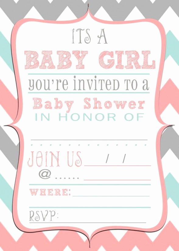 Baby Shower Invitation Templates New Baby Shower Invitations Free Printable Baby Shower