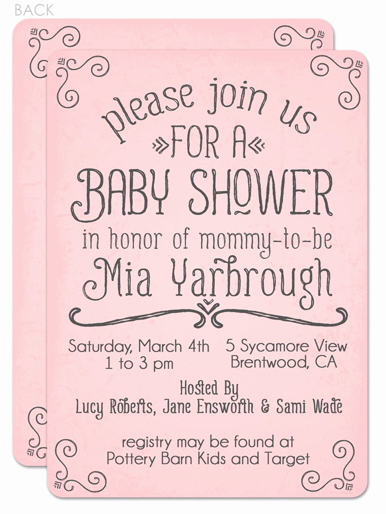 Baby Shower Invitation Text Inspirational Baby Shower Invitations Words Party Xyz