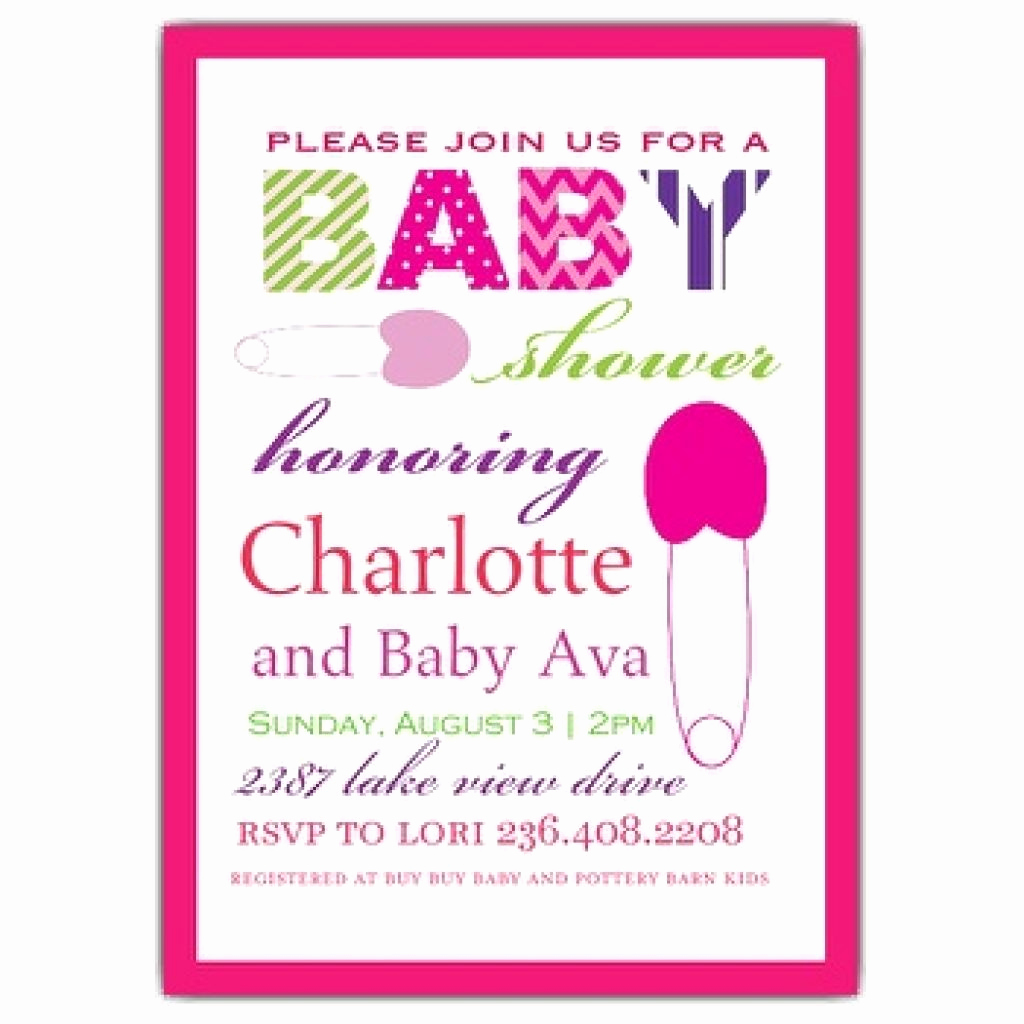 Baby Shower Invitation Text Luxury Baby Shower Invitation Wording Baby Shower Invitation