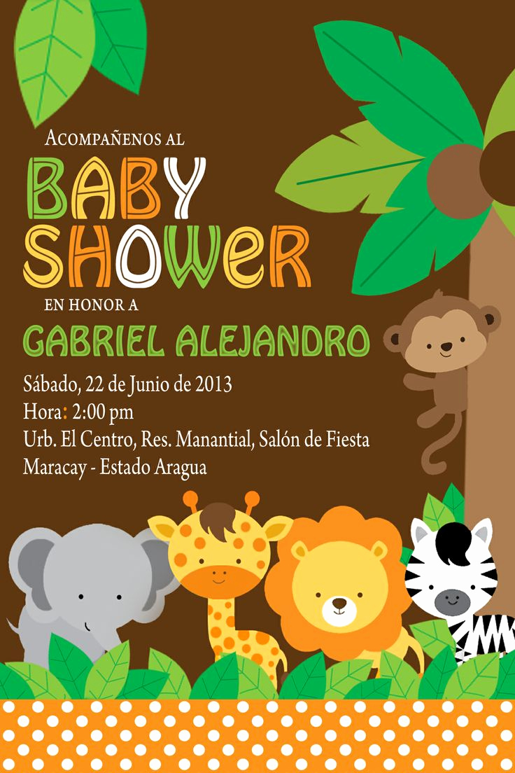 Baby Shower Invitation themes New 26 Best Images About Birthday Invitation Cards On