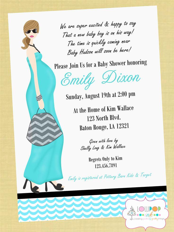 Baby Shower Invitation Wording Best Of 10 Best Images About Simple Design Baby Shower Invitations