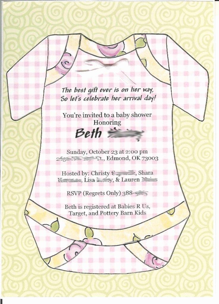 Baby Shower Invitation Wording Unique 10 Best Simple Design Baby Shower Invitations Wording