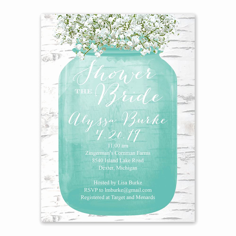 Baby Shower Pics for Invitation Best Of Babys Breath Bridal Shower Invitation