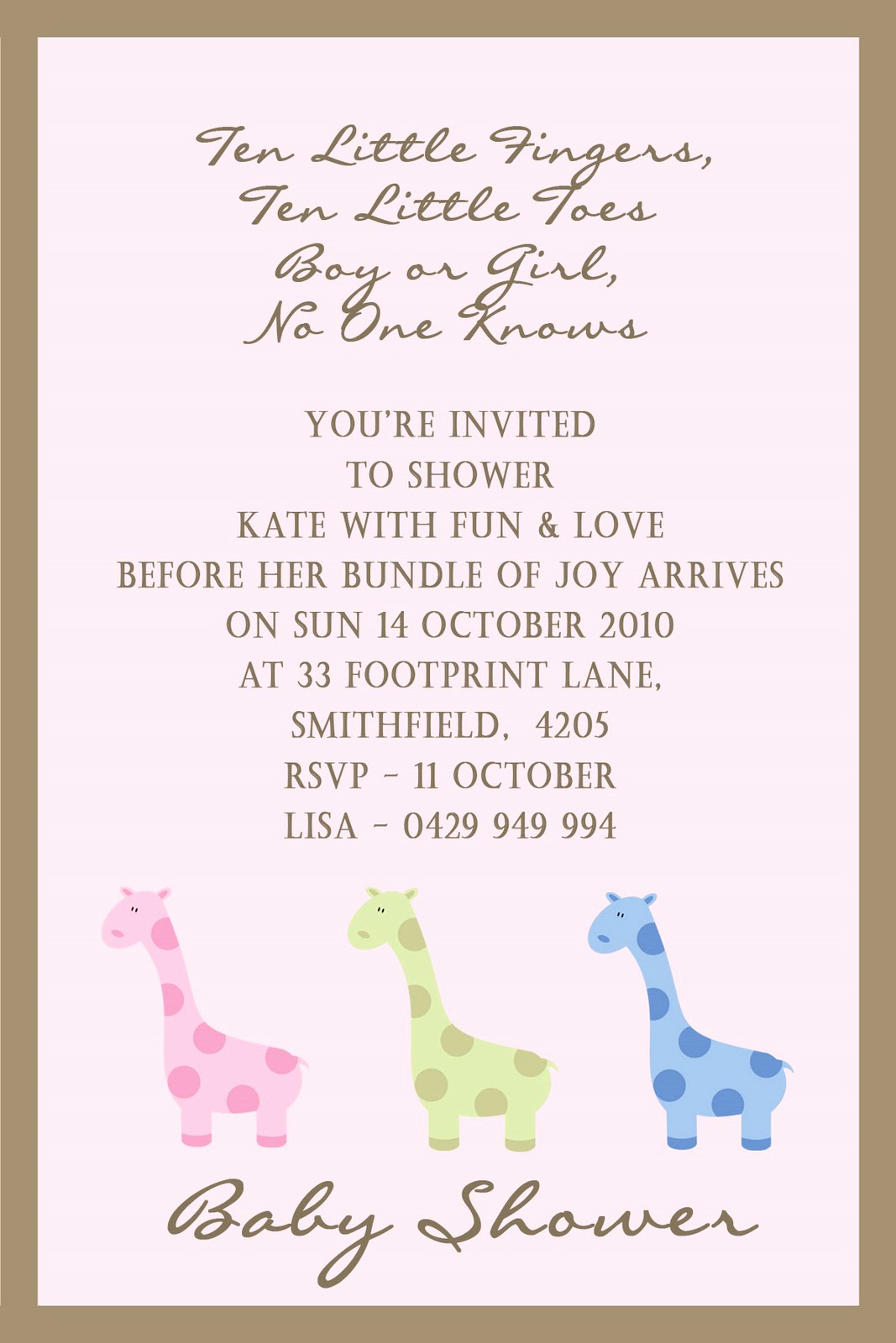 Baby Shower Pics for Invitation New Angelina Plum Baby Shower Invitations