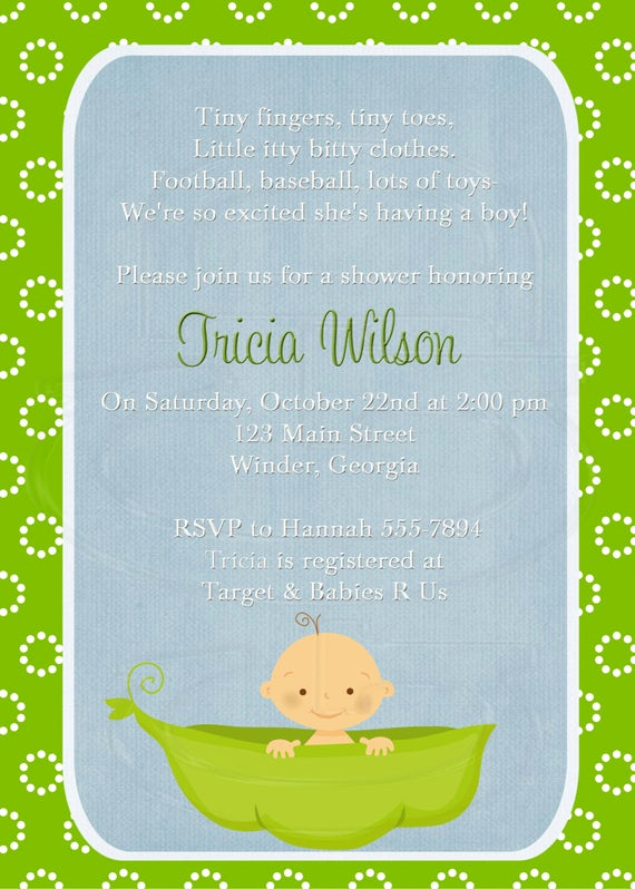 Baby Sprinkle Invitation Wording Awesome Items Similar to Baby Shower Invitation or Baby Sprinkle
