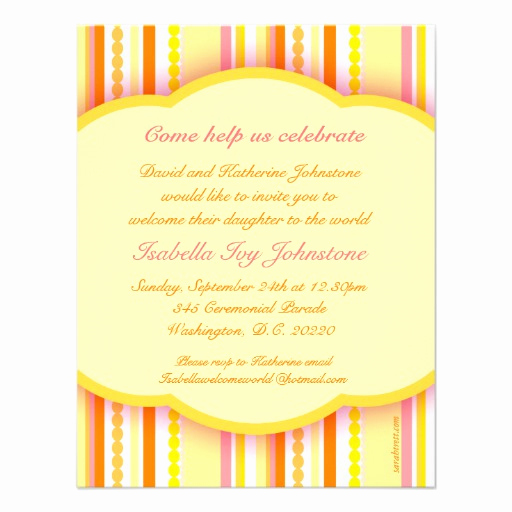"""Baby Welcome Party Invitation Awesome Wel E to the World Party Photo Invitation Card 4 25"""" X 5"""