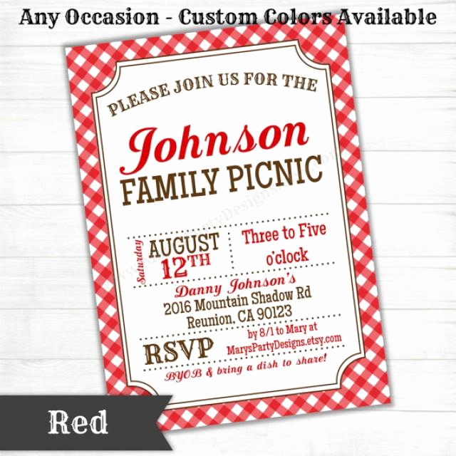 Baby Welcome Party Invitation New Picnic Bbq Western Invitation Baby Bridal Wedding Shower