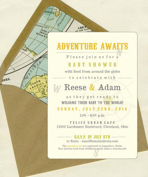 Baby Welcome Party Invitation New Wel E to the World Baby Shower Invites by Bbinvitations