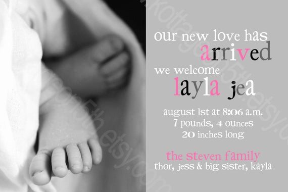 Baby Welcome Party Invitation Unique Unavailable Listing On Etsy