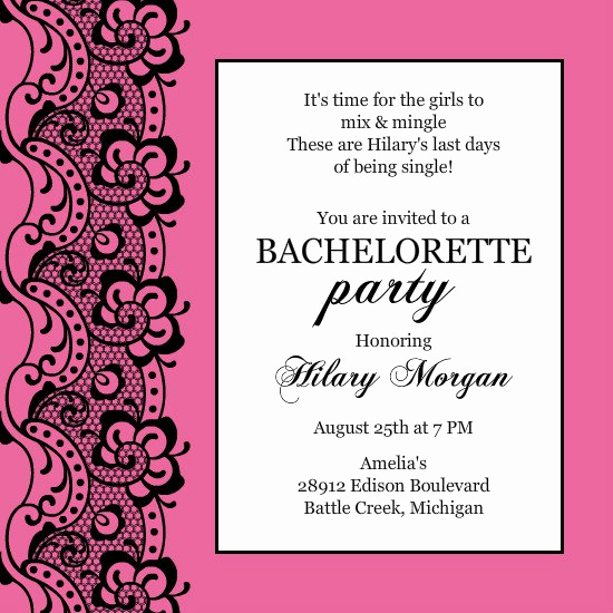 Bachelor Party Invitation Templates Awesome Bachelor Party Invitation Printable Templates