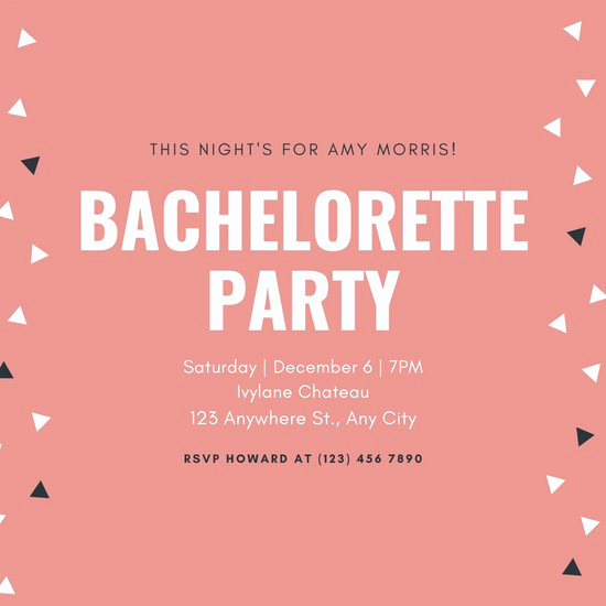 Bachelor Party Invitation Templates Best Of Customize 93 Bachelorette Party Invitation Templates