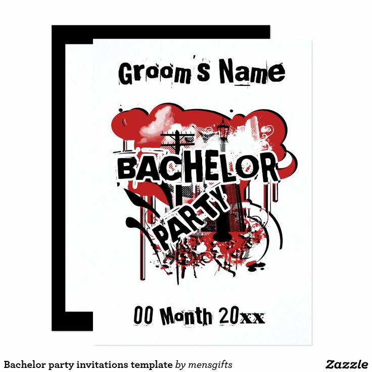 Bachelor Party Invitation Templates Fresh 25 Best Ideas About Bachelor Party Invitations On