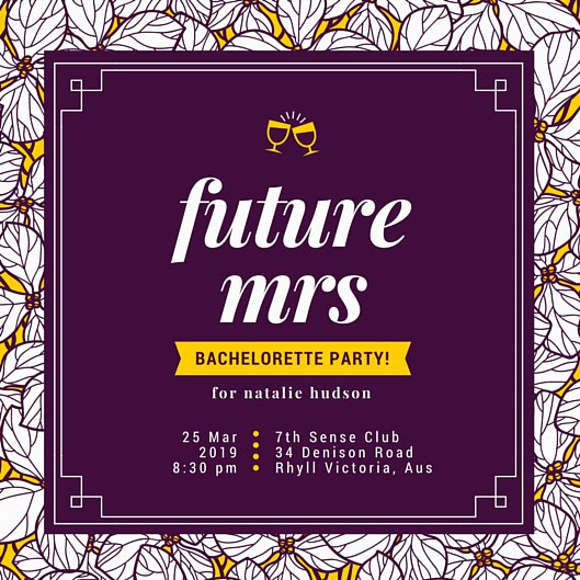 Bachelor Party Invitation Templates Fresh Bachelorette Party Invitation Templates Canva