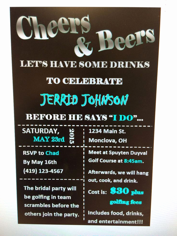 Bachelor Party Invitation Wording Awesome 86 Best Bachelor Party Ideas Images On Pinterest