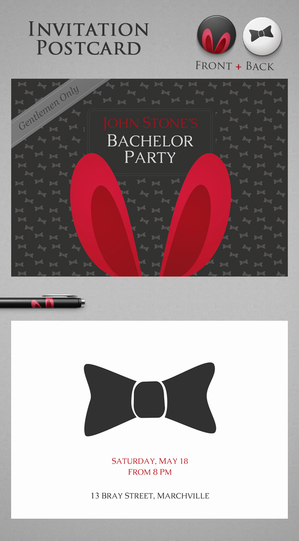 Bachelor Party Invitation Wording Beautiful Free Bachelor Party Invitation On Behance