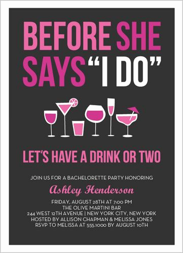 Bachelorette Party Invitation Ideas Best Of before the I Do Bachelorette Party Invitations