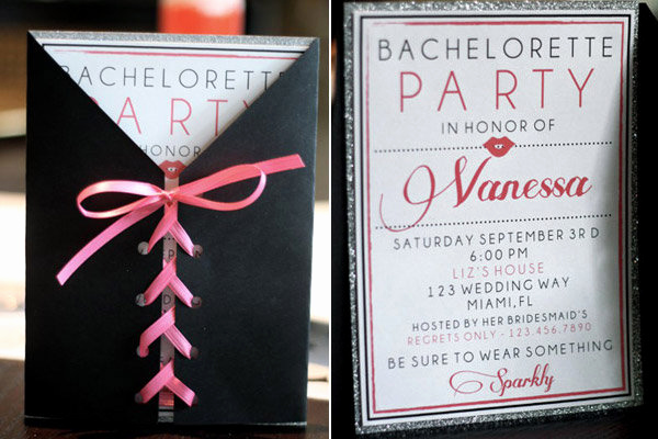 Bachelorette Party Invitation Ideas Elegant 5 Fun Bachelorette Party Ideas