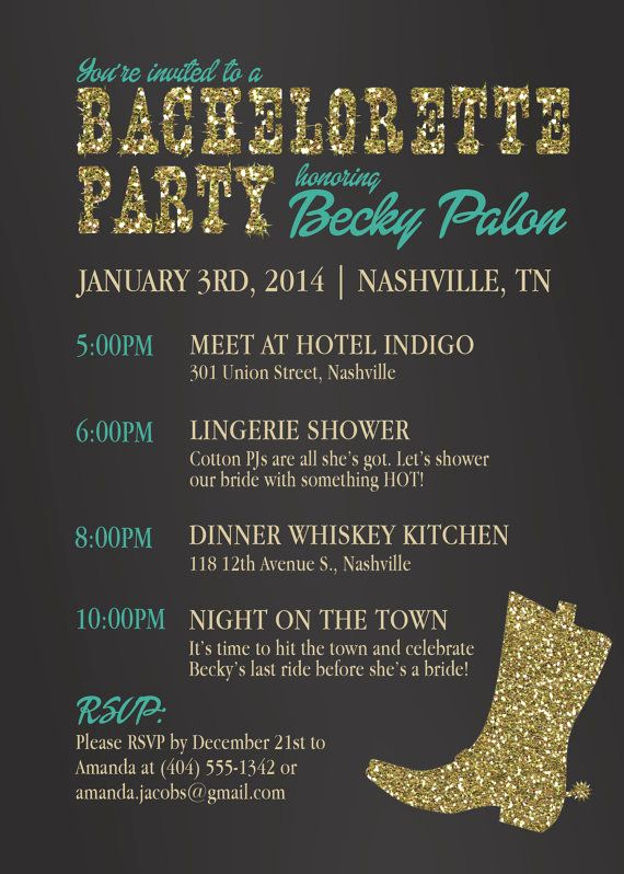 Bachelorette Party Invitation Ideas Inspirational 25 Best Ideas About Cowgirl Bachelorette Parties On