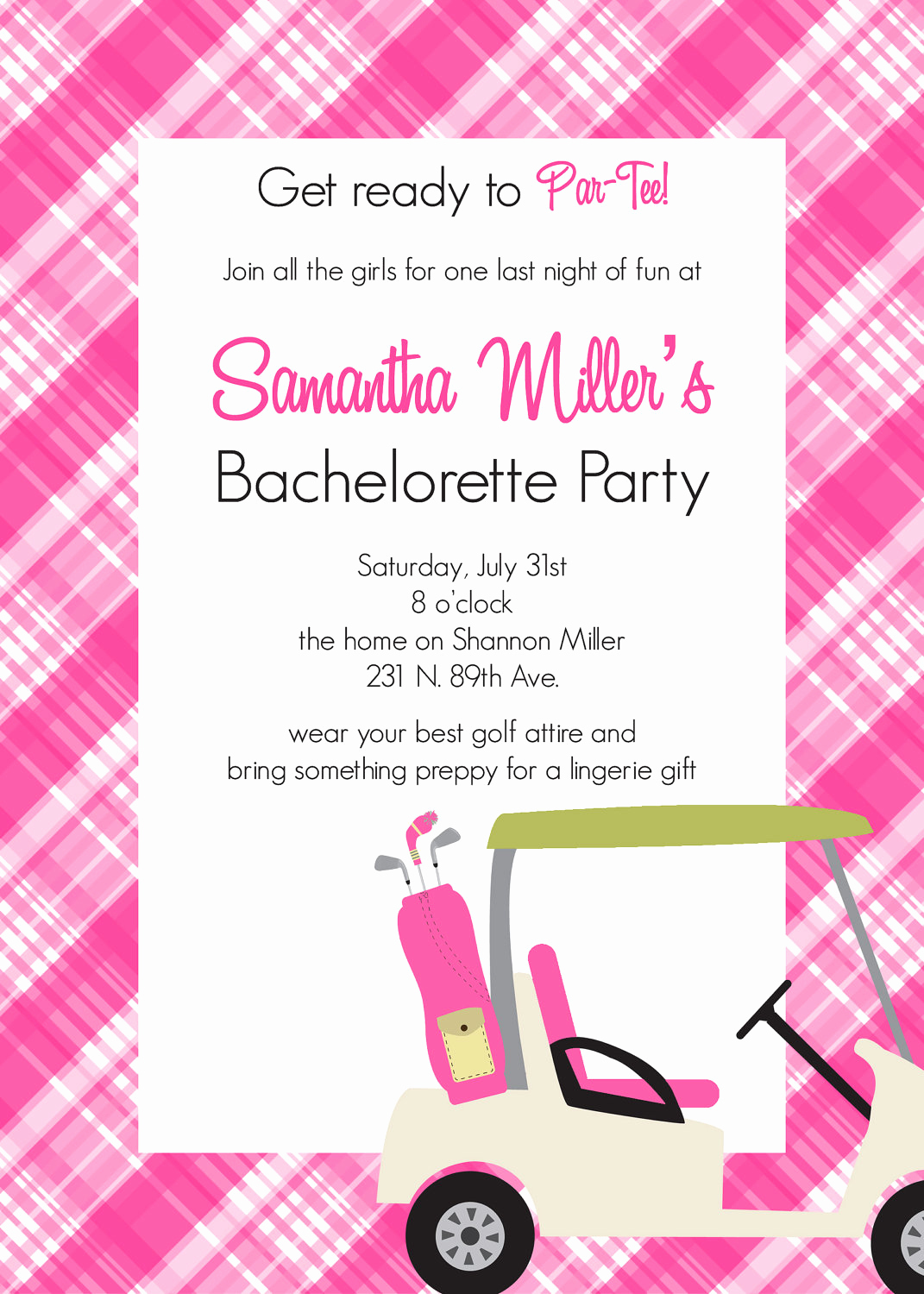 Bachelorette Party Invitation Ideas Inspirational atl Bachelorette Resource