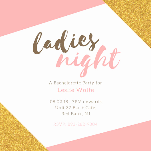 Bachelorette Party Invitation Template Best Of Bachelorette Party Invitation Templates Canva