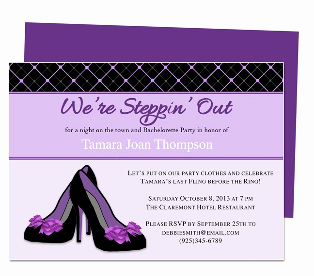 Bachelorette Party Invitation Template Inspirational 13 Best Microsoft Publisher Images On Pinterest