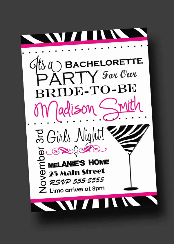 Bachelorette Party Invitation Template Luxury 12 Bachelorette Party Invitations Psd Ai Vector Eps