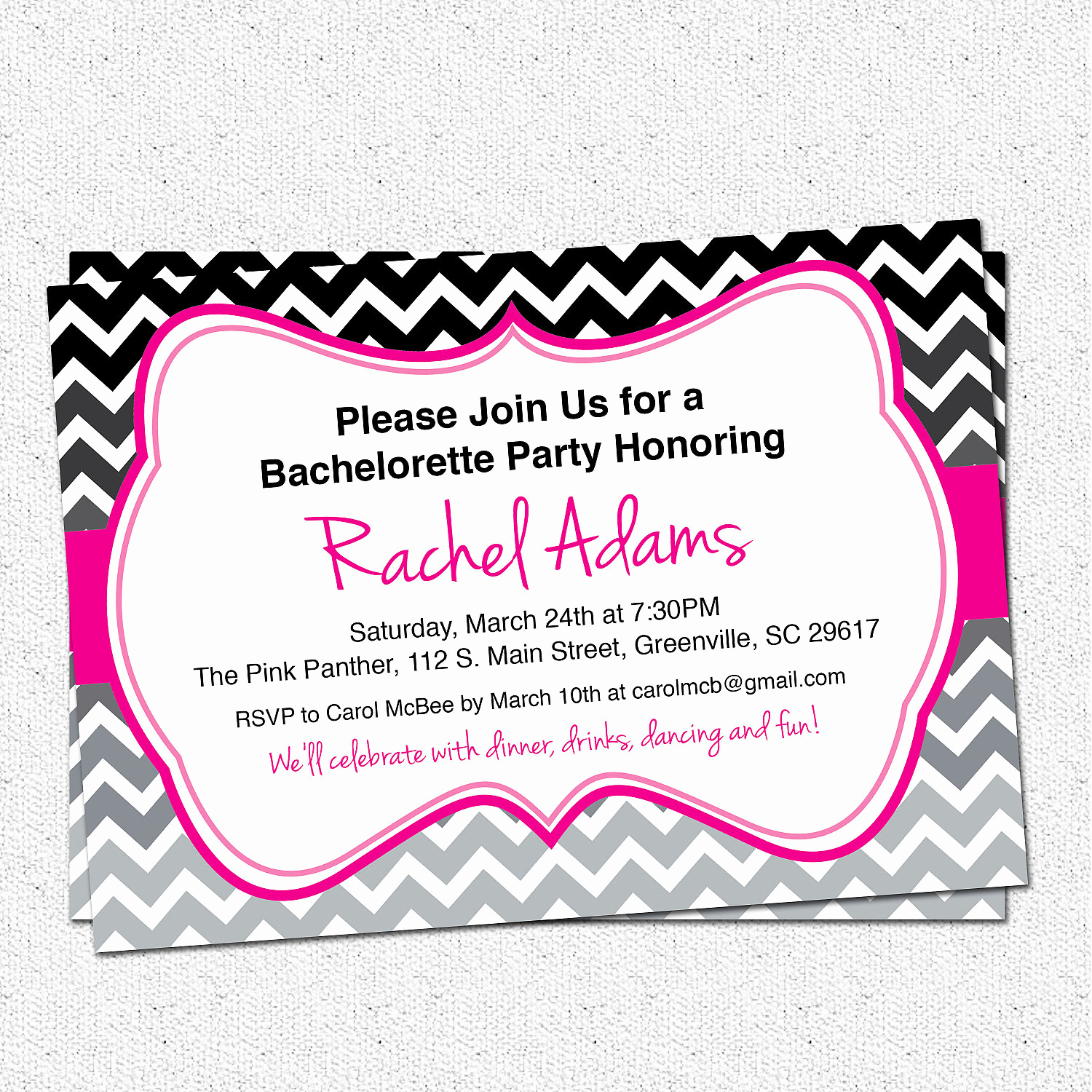 Bachelorette Party Invitation Template New Bachelorette Party Invitation Printable Bridal by