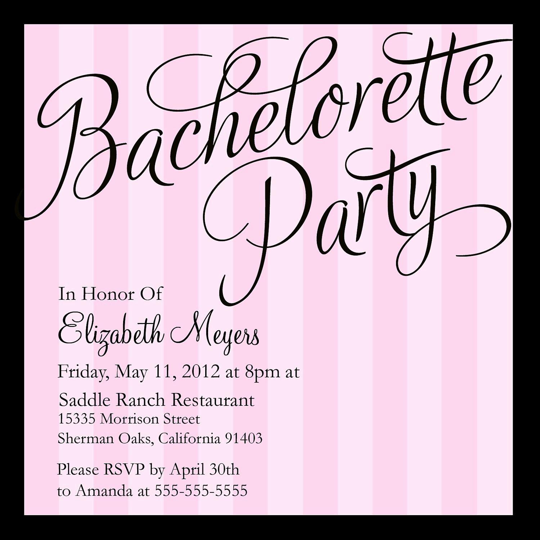 Bachelorette Party Invitation Templates Elegant Bachelorette Party Invitations Google Search